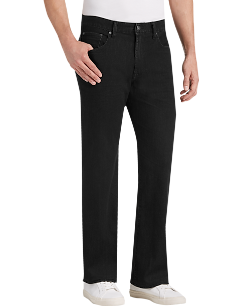 a975061c52 Lucky Brand 121 Wharton Black Slim Fit Jeans - Men's Pants | Men's ...