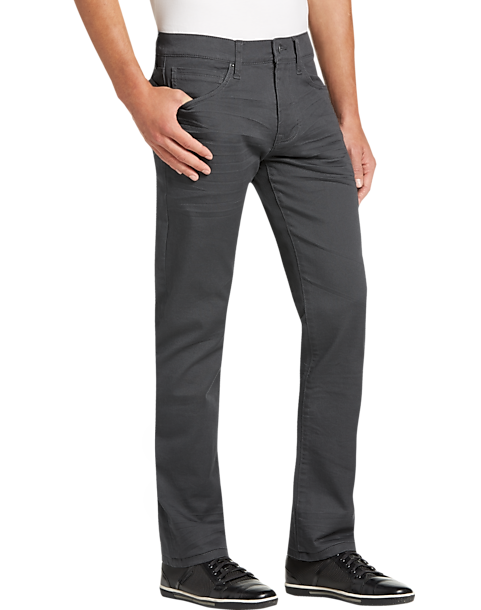 JOE Joseph Abboud Charcoal Slim Fit Jeans (Charcoal / Black)