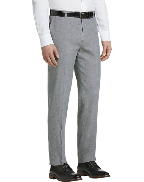 Joseph Abboud Gray Modern Fit Pants