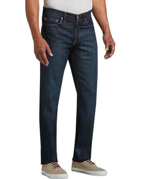Levi's® 514™ Shoestring Dark Wash Classic Fit Jeans - Mens Home - Men's  Wearhouse