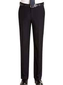 2f4619be0e3ba1 Mens Pants & Shorts, Clearance - Pronto Uomo Navy Slim Fit Dress Pants -  Men's