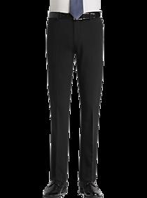 e5a35fe11df Mens Pants - Egara Black Extreme Slim Fit Dress Pants - Men s Wearhouse
