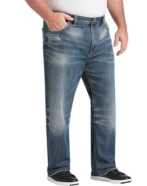 d76fd45a5e Big & Tall Silver Jeans Co. Grayson Medium Blue Wash Classic Fit ...