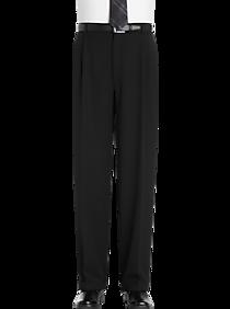 Joseph & Feiss Gold Classic Fit Dress Pants (Black)