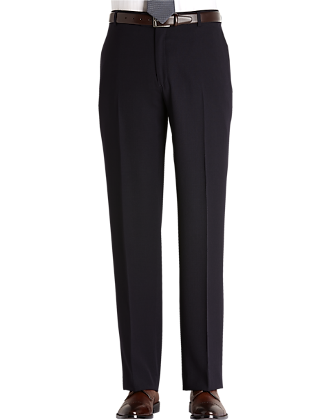 99bedc61d1ca Joseph   Feiss Navy Classic Fit Dress Pants - Men s Pants