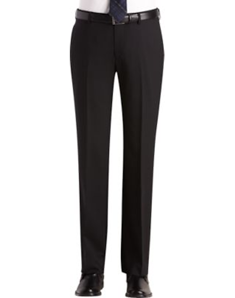 227daa35be80 Egara Black Slim Fit Suit Separates Dress Pants - Men's Suits ...