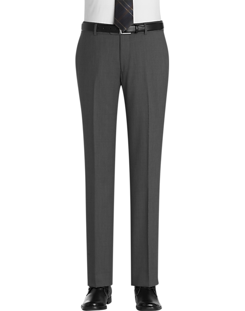 Egara Gray Slim Fit Dress Pants - Men's Dress Slacks | Men's Wearhouse