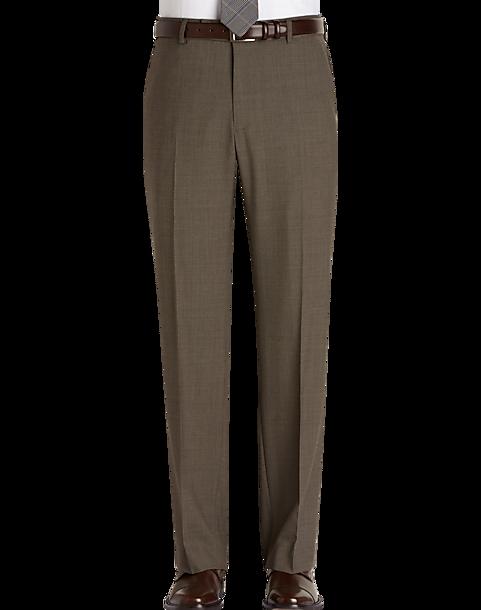 0d3c21df Nautica Tan Houndstooth Classic Fit Dress Pants - Men's Pants ...