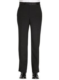 Jones New York Black Modern Fit Tuxedo Separates Pants
