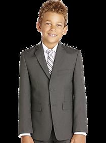 8a52a315c5 Joseph   Feiss Boys Gray Stripe Suit Separates Coat