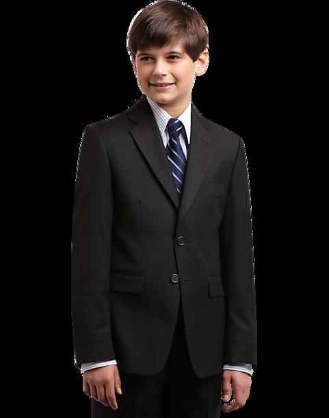 2183e46f27 Joseph   Feiss Boys Black Suit Separates Coat - Men s Clothing ...