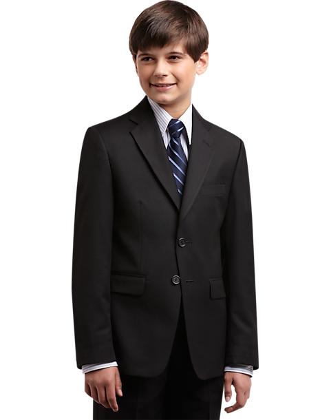 3f90348700c75 Joseph   Feiss Boys Black Suit Separates Coat - Men s Clothing ...