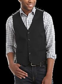 53ef91817c4 Egara Black Slim Fit Suit Separates Vest