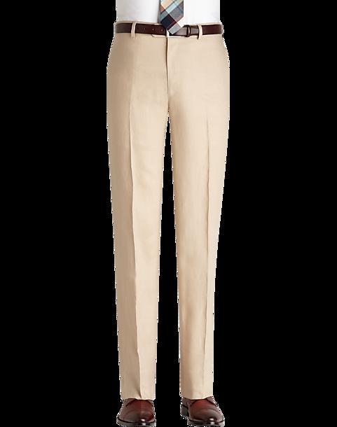 Pronto Uomo Platinum Modern Fit Linen Suit Separates Dress Pants