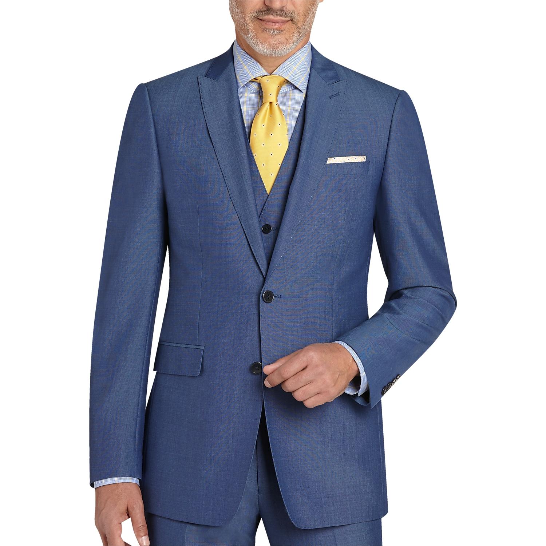 Blue Dress Suit - Go Suits