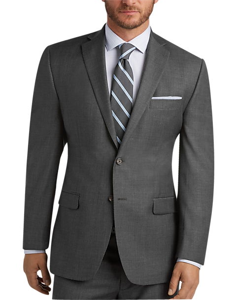 Gray Sharkskin Suit - Men\'s Suits - Lauren by Ralph Lauren | Men\'s ...