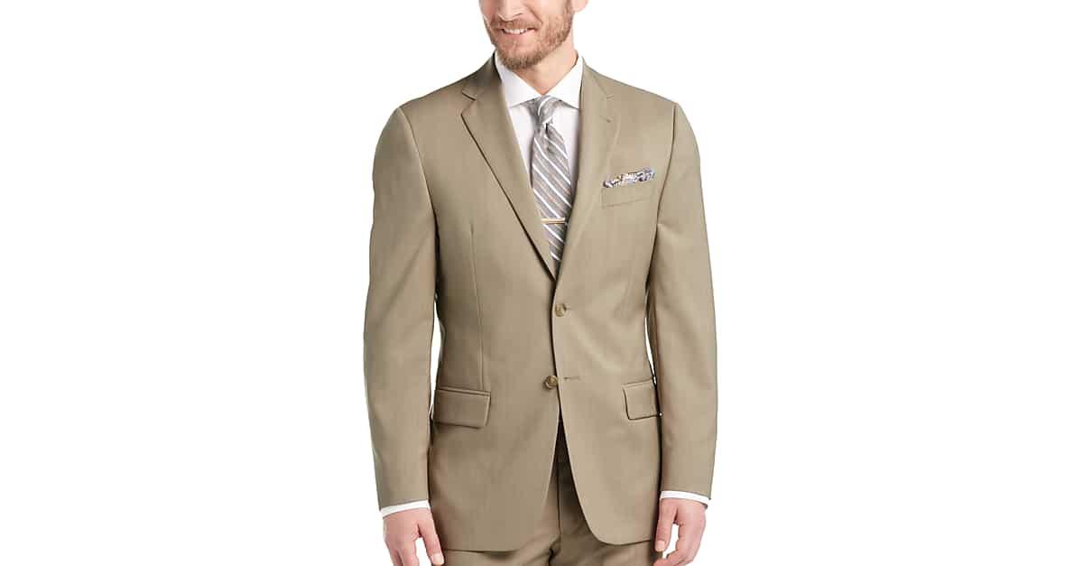 3f48cae102 Joseph Abboud Tan Modern Fit Suit - Men's Suits   Men's Wearhouse