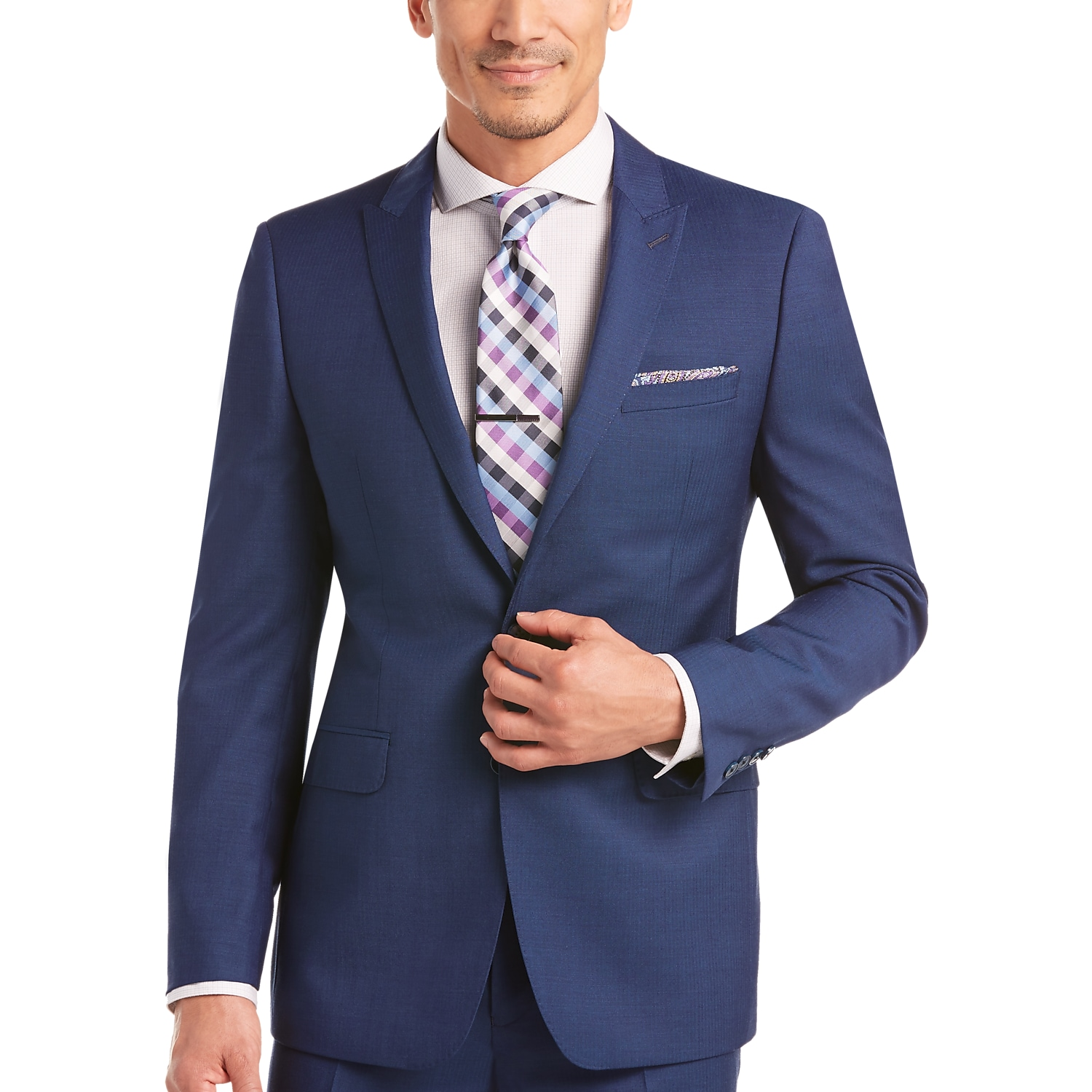 Calvin Klein Blue Extreme Slim Fit Suit - Men's Slim Fit | Men's ...