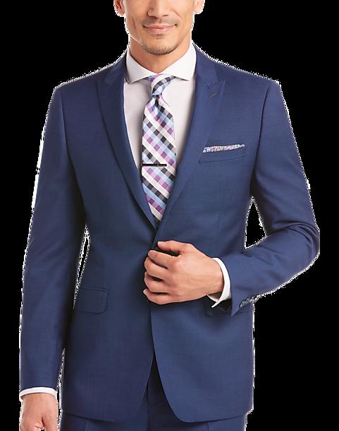 22b319ad77686 Calvin Klein Blue Slim Fit Suit - Men s Suits