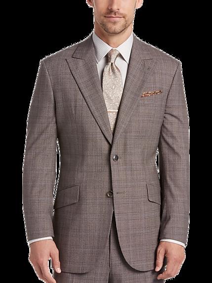 Wool Brown Suit | Mens Wearhouse
