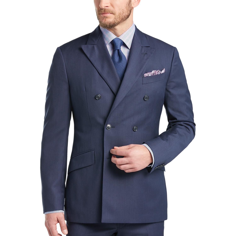 Navy Blue Suit Slim Fit Suit La