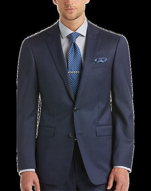 Calvin Klein Navy Extreme Slim Fit Suit - Mens Slim Fit, Suits - Men's  Wearhouse