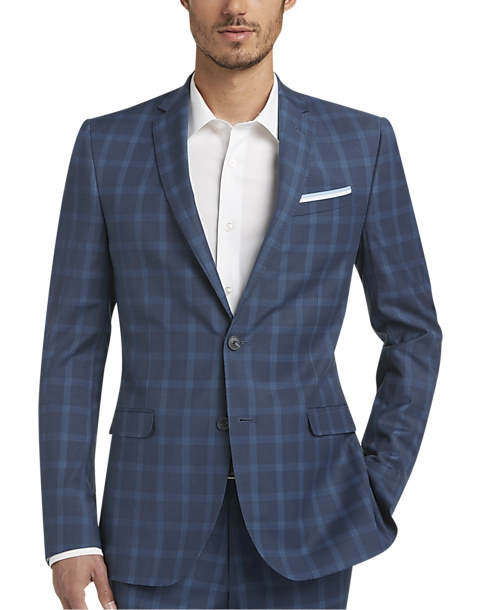 Egara Men's Extreme Slim Fit Suit