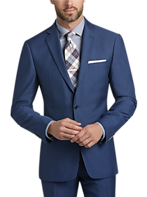 Calvin Klein Blue Postman Slim Fit Suit