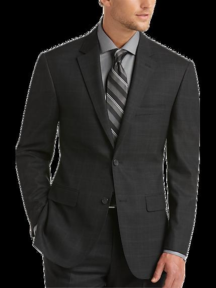 Men's Charcoal Suit - Dark Grey Suit   Men's Wearhouse