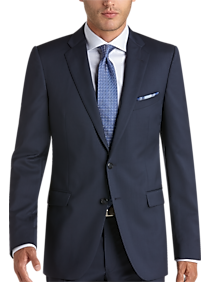 Joseph Abboud Blue Extreme Slim Fit Suit Separates Coat