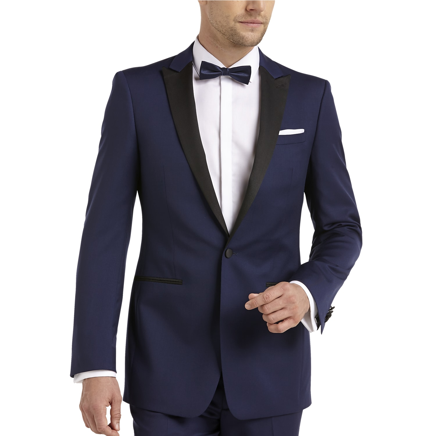 4d225ab9cf1a4 Mens Tuxedos   Formalwear, Clearance - Calvin Klein Blue Slim Fit Tuxedo -  Men s Wearhouse