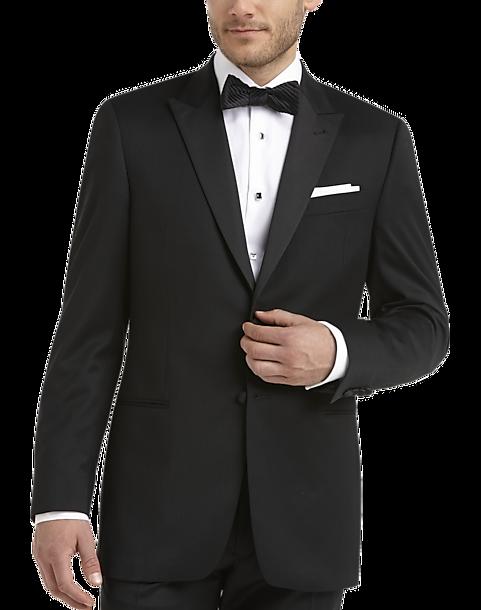 f7811e2d2034b Black Modern Fit Tuxedo - Men's Tuxedos - Joseph Abboud   Men's Wearhouse