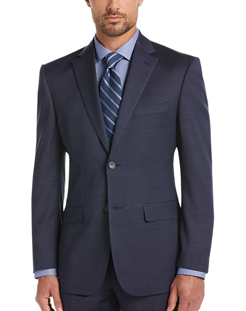 01e563248 Awearness Kenneth Cole Blue Slim Fit Suit Separates Coat