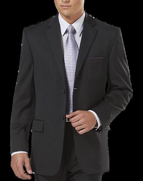 100% Wool Charcoal Suit Separates Coat - Men\'s Suits - Pronto Uomo ...