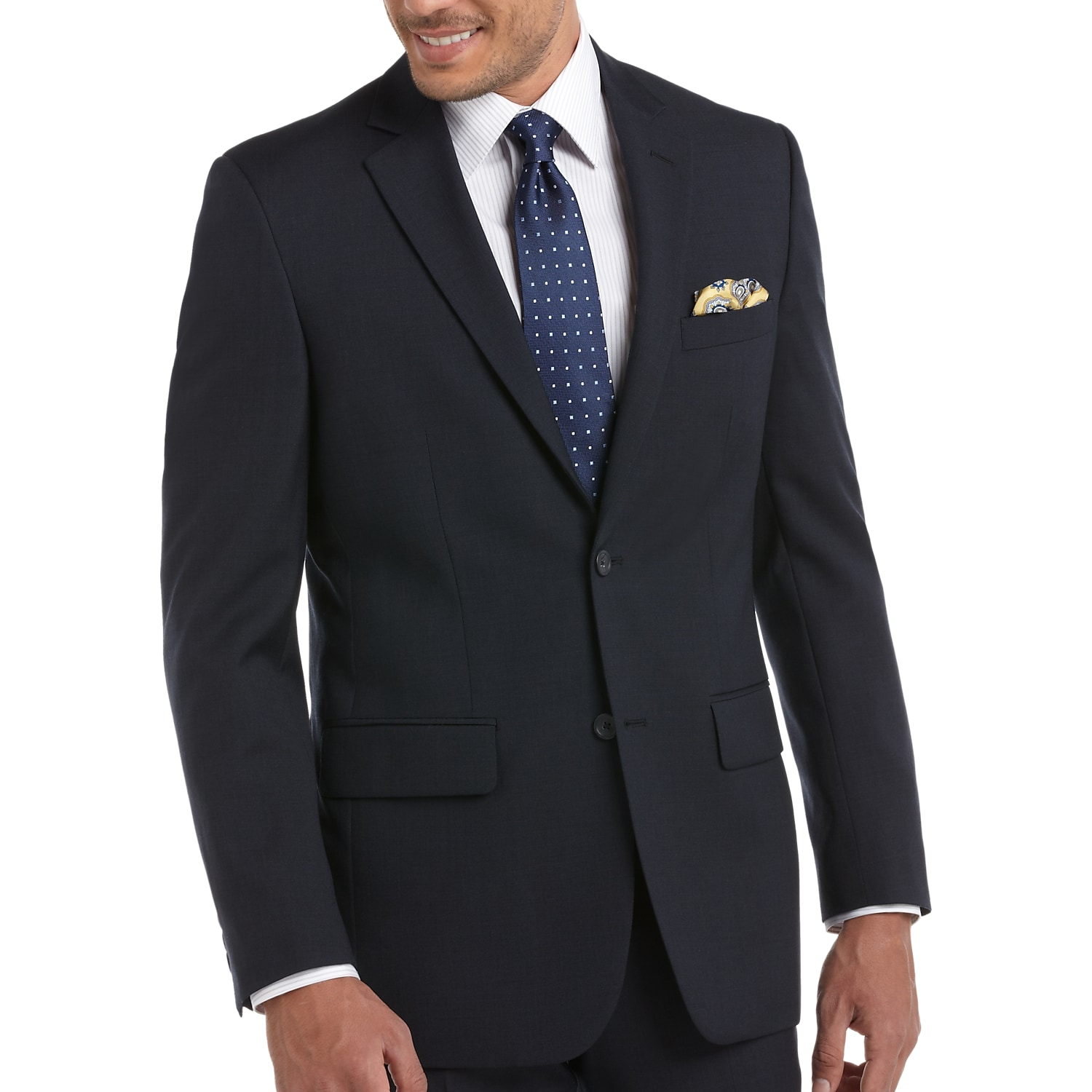 Blue Suit - Shop for Navy Blue & Dark Blue Suits | Men\'s Wearhouse