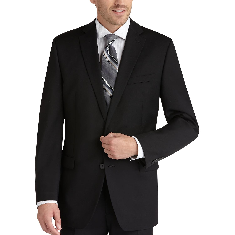 Calvin Klein Black Slim Fit Suit - Men's Slim Fit | Men's Wearhouse