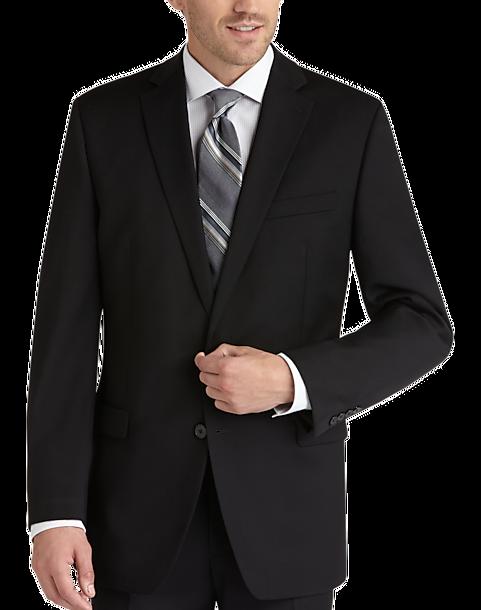 4f7bd2d0402 Calvin Klein Black Modern Fit Suit