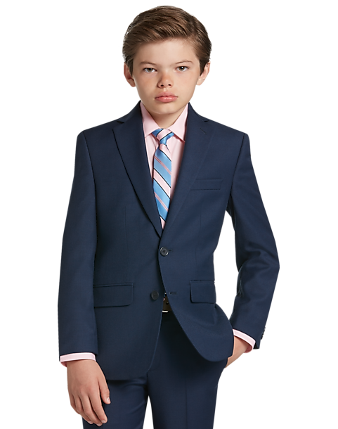 ab38c356c Joseph   Feiss Boys Blue Suit Separates Coat - Men s Suits
