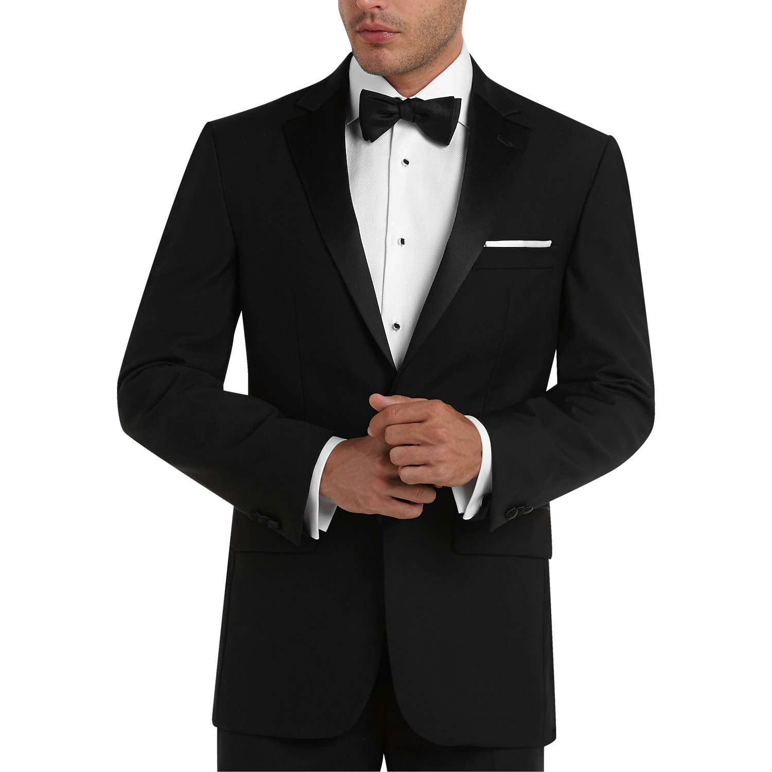 3e03213ee73 Mens Home - Pronto Uomo Black Modern Fit Tuxedo - Men s Wearhouse