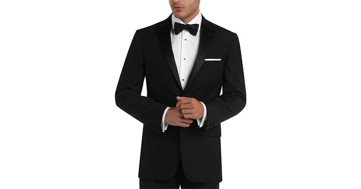 Tuxedos men 39 s formal wear attire men 39 s wearhouse for Black tuxedo shirt for men