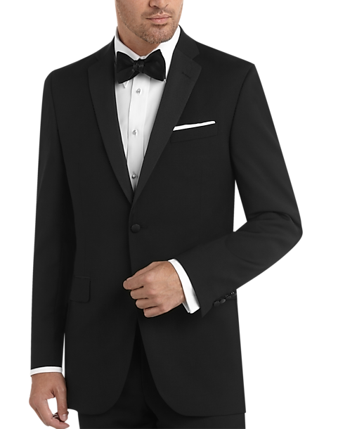 f58153b930a BLACK by Vera Wang Black Slim Fit Tuxedo - Men s Suits