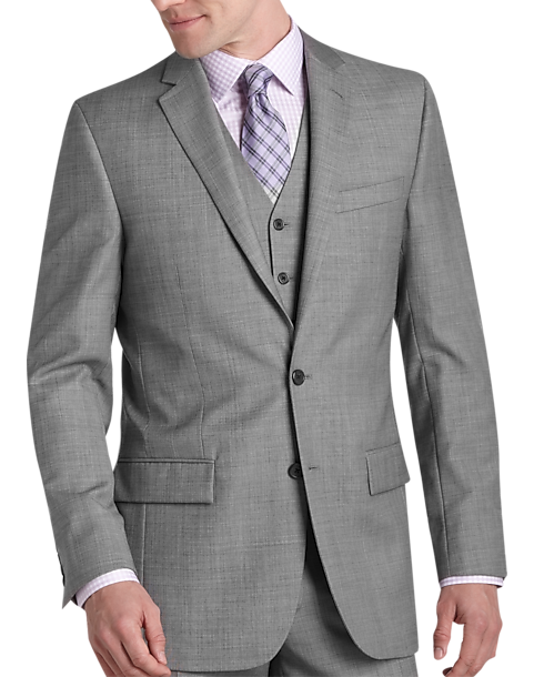 Mens suits, suit separates, dress pants, sport coats, blazers, dress shirts, ties from brands like Ralph Lauren, Calvin Klein, Michael Kors, DKNY, Hugo Boss.