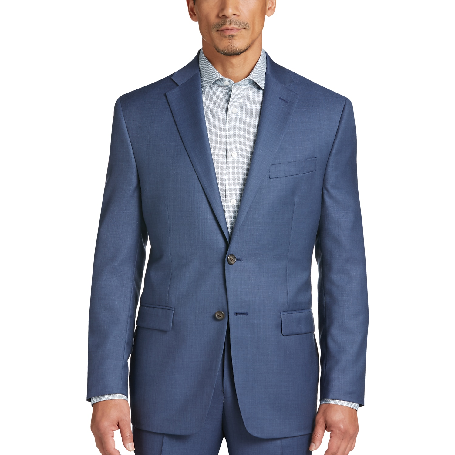 Lauren by Ralph Lauren Blue Classic Fit Suit - Men's Classic Fit ...