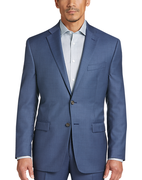 Lauren by Ralph Lauren Blue Classic Fit Suit - Men\'s Classic Fit ...