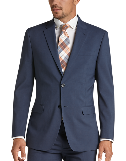 Tommy Hilfiger Blue Slim Fit Suit