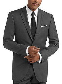 huge selection of 43671 3c038 Mens Home - BLACK by Vera Wang Gray Slim Fit Tuxedo - Men s Wearhouse