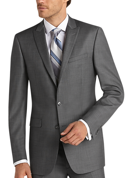 Men S Gray Suit Men S Wearhouse