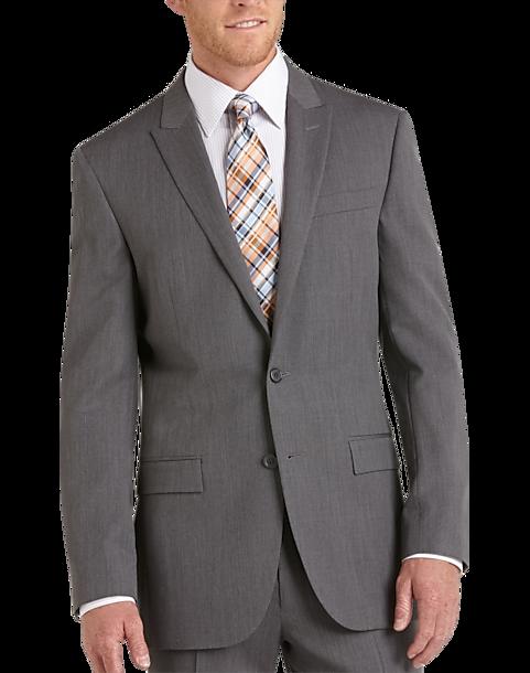 efe2a535e6d0 Egara Medium Gray Slim Fit Suit Separates Coat - Men's Suits | Men's ...