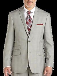 Marc Ecko Plaid Slim Fit Suit for Mens