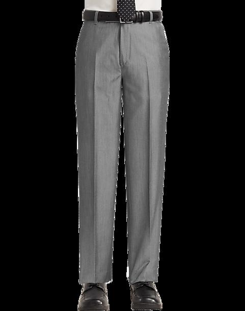 Calvin Klein Boys Charcoal Dress Slacks Mens Boys Dress Slacks
